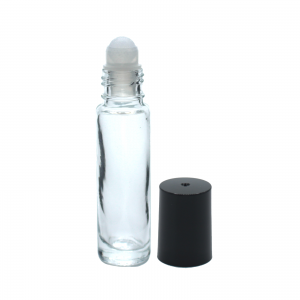 10 ml clear plastic roll on 1