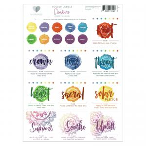 Roller Chakra labels