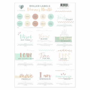 Womans health stickers