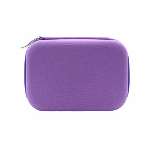 Hard shell travel case for roll on lila purple 1 H850