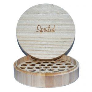 Spoild wooden box