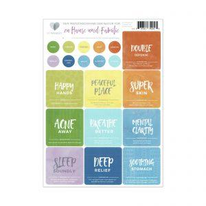 Zu Hause und Fanilie + stickers DE. stickers