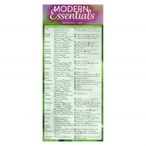 Modern Essential EN Reference card 11th edition
