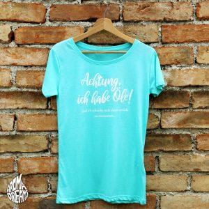 T-Shirt-achtung-mint