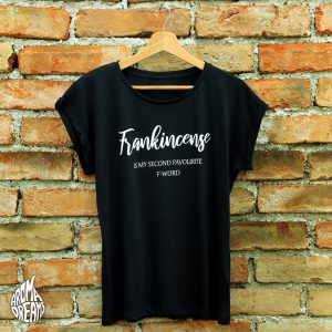 T-Shirt-frankincense-black