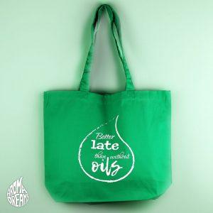 tasche-better-late-green
