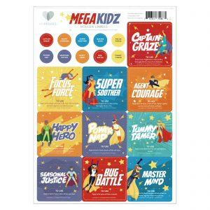 MyMakes Mega Kidz Labels EN