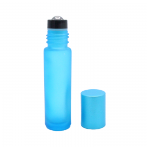 10 ml blue frosted roll-on 2