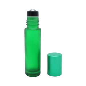 10 ml green frosted roll-on 2