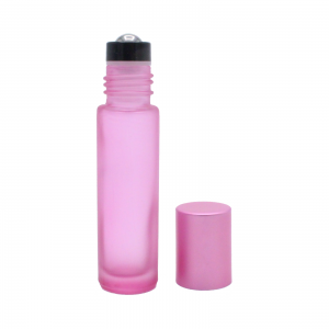 10 ml pink frosted roll-on 2