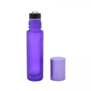 10 ml purple frosted roll-on 2