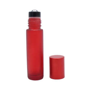 10 ml red frosted roll-on 2