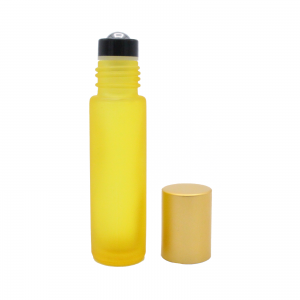 10 ml yellow frosted roll-on 2