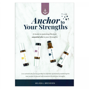 Anchor to your strengths booklet Front
