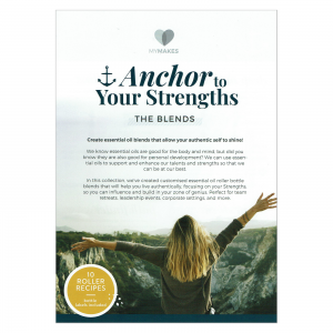 Mymakes Anchor to your strenghts the blends front EN
