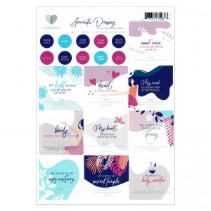 Mymakes Aromatic Dressing Labels EN