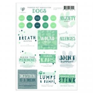 Mymakes Dogs Labels EN