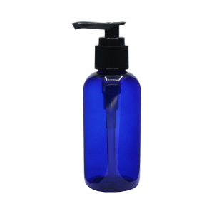120 ml plastic blue pump black