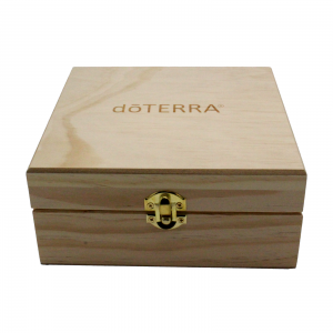 Wooden box doTERRA. 1